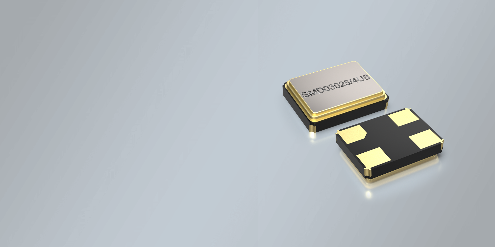 SMD QUARZ 3,2 x 2,5 mm 12.0 - 40.0 MHz ULTRASCHALL
