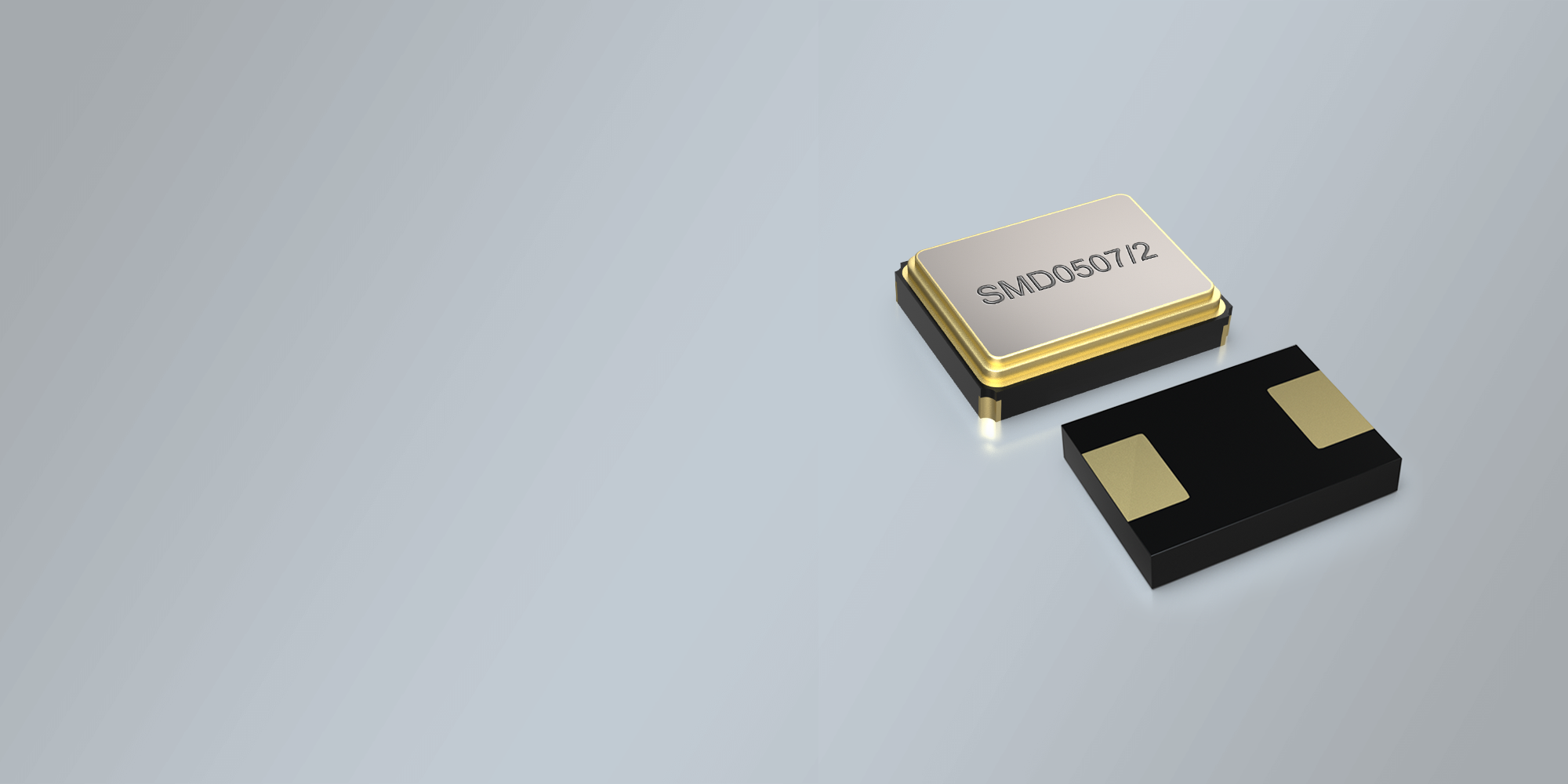 SMD QUARZ 7,0 x 5,0 mm 6.0 - 150.0 MHz
